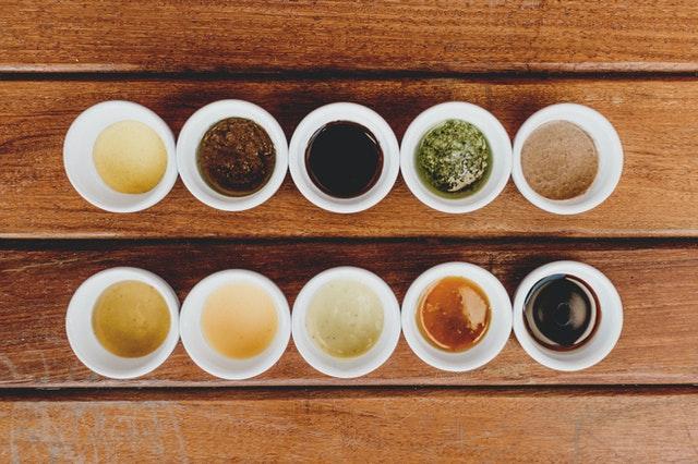 sauce et condiment